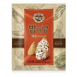 PARTITION [5packs] CJ Beksul Rice Seasoning Seafood Mix 24g