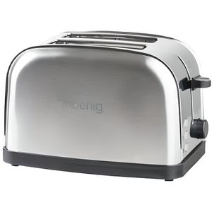 GRILLE-PAIN - TOASTER H.KOENIG Grille-pain - TOS7 - 2 fentes -  Inox