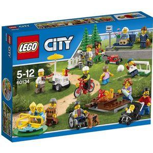 ASSEMBLAGE CONSTRUCTION LEGO® City 60134 La Parc de Loisirs - Ensemble de