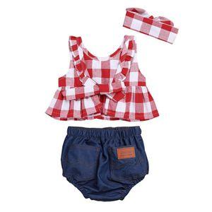 d3d4ff65d1a46 Ensemble de vêtements ENSEMBLE DE VETEMENTS Bébé Filles - sans manches à