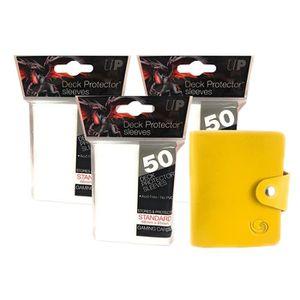 CARTE A COLLECTIONNER Ultra-Pro Lot de 3 sachets de 50 Protège-cartes BL