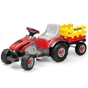TRACTEUR - CHANTIER Peg Perego Tracteur a pedale Mini Tony Tigre