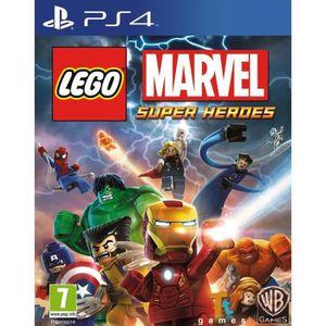 JEU PS4 Lego Marvel Super Heroes PS4 jeu playstation 4