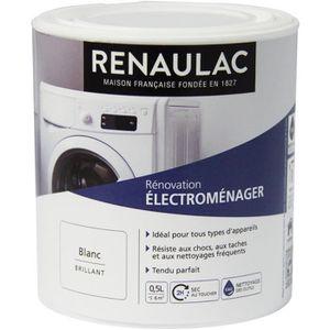 PEINTURE - VERNIS RENAULAC Peinture Rénovation Electroménager Blanc