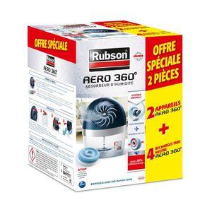 ABSORBEUR D'HUMIDITÉ RUBSON Lot de 2 absorbeurs - déshumidificateurs -