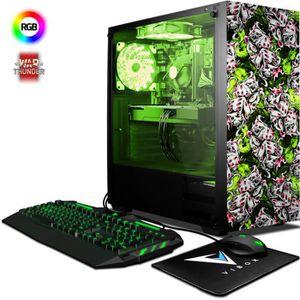 UNITÉ CENTRALE  VIBOX Pyro GS860-281 PC Gamer - AMD 8-Core, Geforc