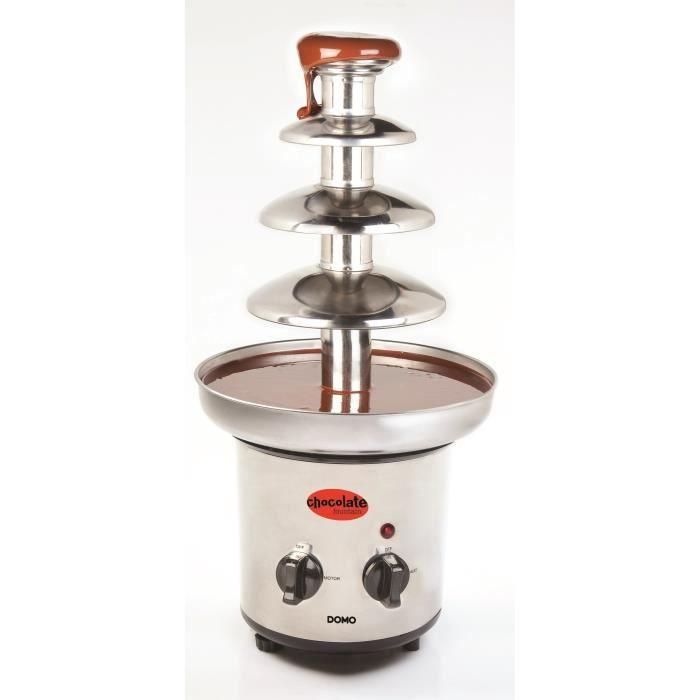 DOMO DO916CH Fontaine à chocolat – Inox