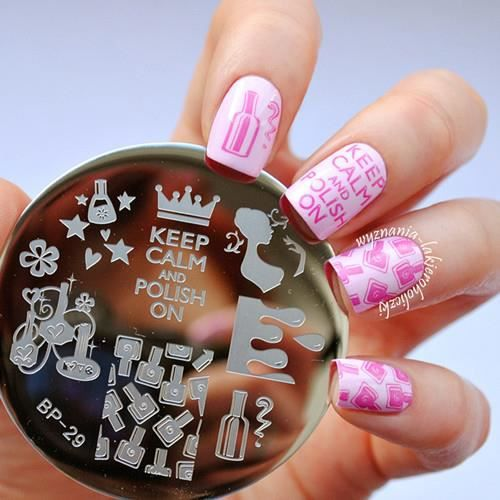 Quel vernis pour stamping nail art