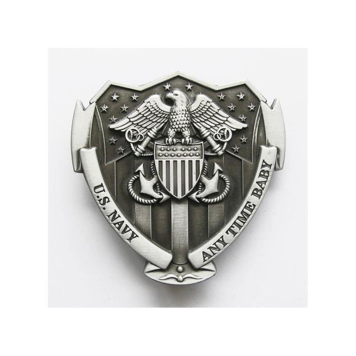 Boucle de ceinture US navy alu homme femme militaire - Achat   Vente ... 1a1fd12dbe2