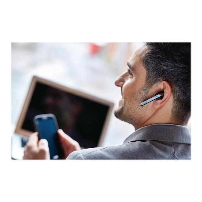 Jabra Stealth Uc Casque Intra-auriculaire Sans Fil Bluetooth Nfc* Suppresseur De Bruit Actif