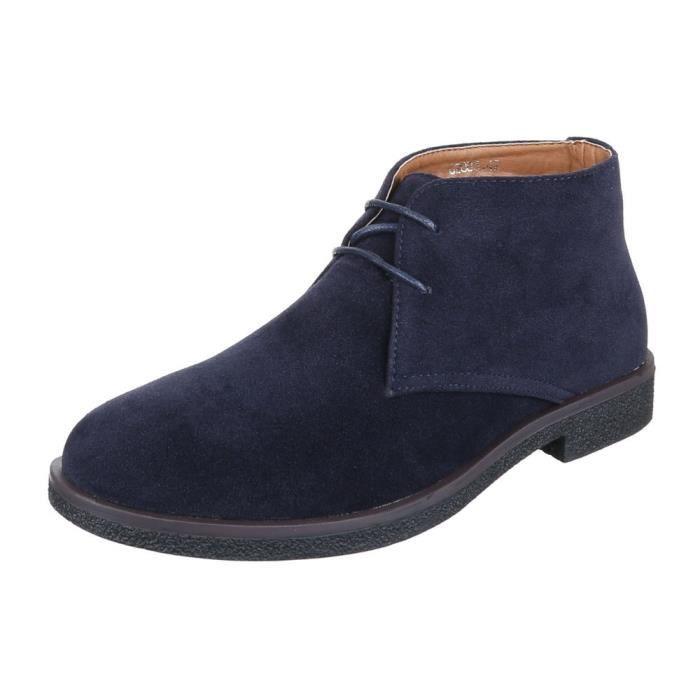 homme Boots chaussure laçage bottine