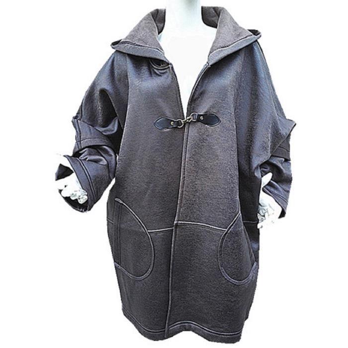 Manteau long femme c&a