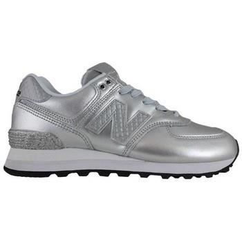 NEW BALANCE ADULTE-WL574NRH-TRAINING LACET-SILVER JJPPP