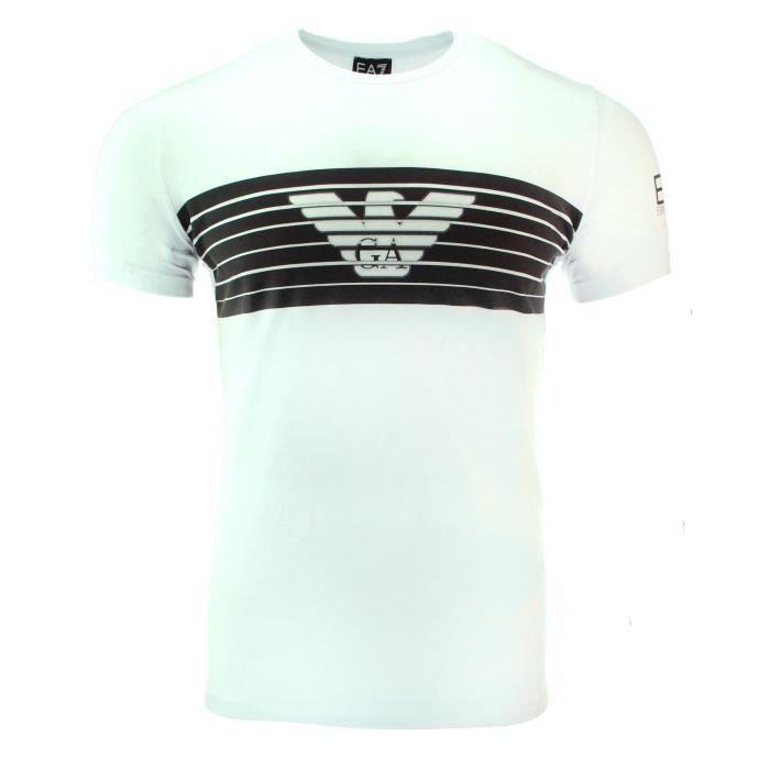 Blanc Shirt T Emporio T Armani Shirt Armani Emporio Blanc 543qARLj