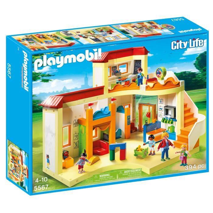 ASSEMBLAGE CONSTRUCTION Playmobil 5567 - Jeu De Construction - Garderie D'
