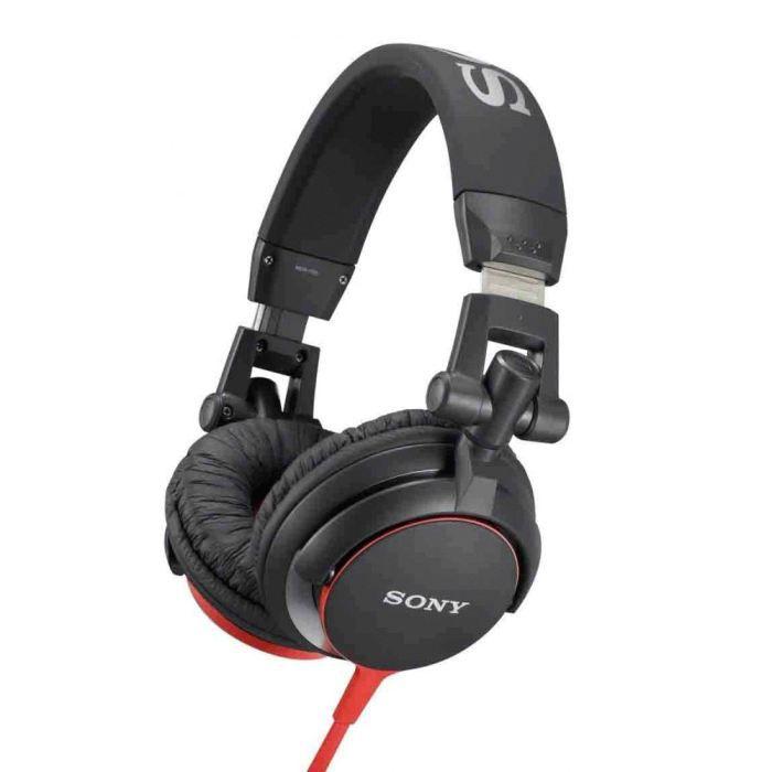 CASQUE - ÉCOUTEURS SONY MDR-V55 Casque audio stéréo - Noir et Rouge