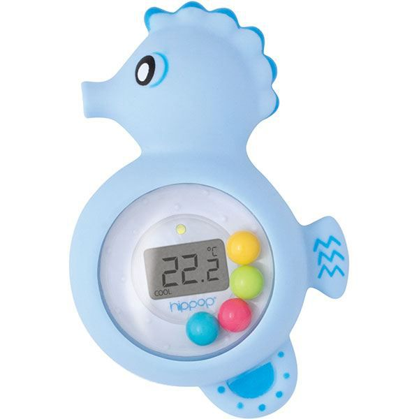 Thermom tre de bain hippop achat vente thermom tre de for Thermometre de chambre bebe