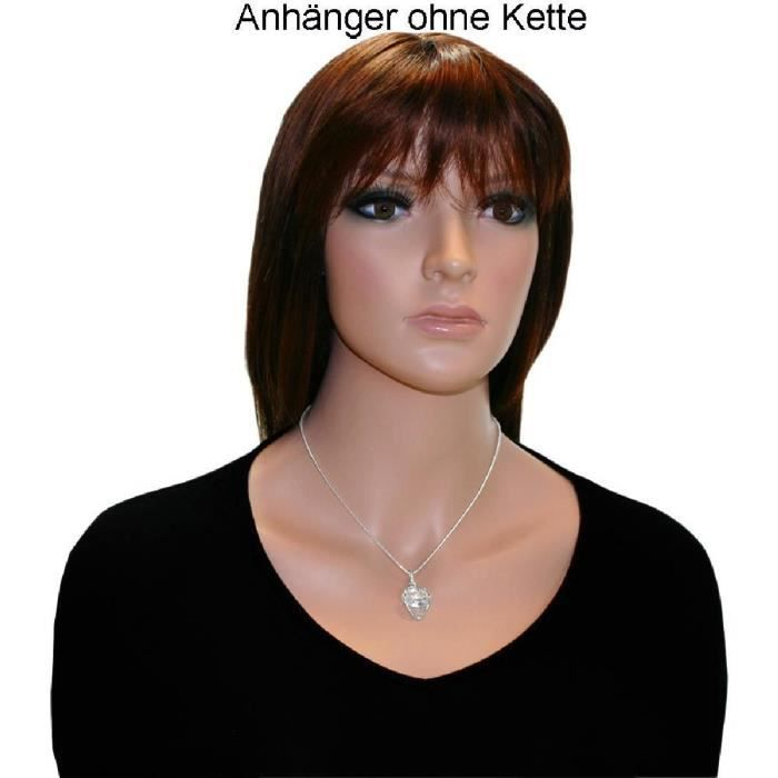 In Collections - 0010201694340 - Pendentif Femme - Argent Fin 925-1000 - Zirconium WBEQ6