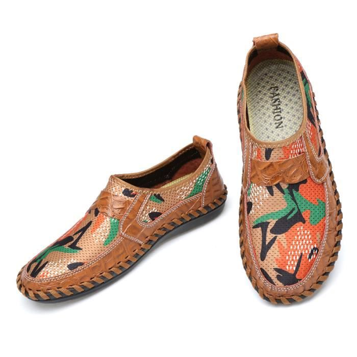 Mocassin Chaussures Masculines Chaussures Homme Respirante Mode Homme Mocassin 6XZW48nZ