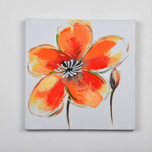 TABLEAU - TOILE Tableau déco Fleurs  140 -  Toile peinte à la main