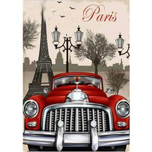 TABLEAU - TOILE PARIS (5) 30*40 Partiel - 5D Diamond Painting Cane