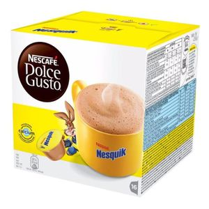 CACAO - CHOCOLAT DOSETTES DOLCE GUSTO NESQUIK pack de 16 dosettes n