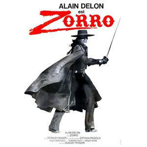 AFFICHE - POSTER ZORRO A Delon reproduction affiche de cinéma en 60