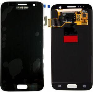 ECRAN DE TÉLÉPHONE Affichage LCD noir pour Samsung Galaxy S7 G930 G93