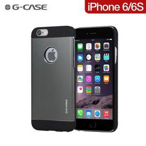COQUE - BUMPER Coque G-Case Aluminium Grey-Black pour iPhone 6-6S