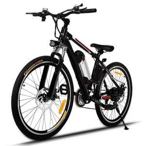 vélo électriques Vélo de montagne 25 pouces roue jante aluminium alliage EU PLUG