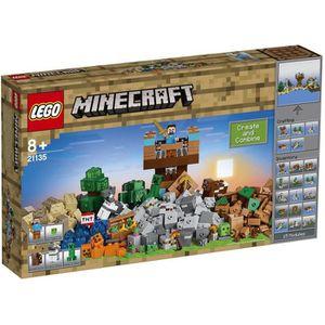 ASSEMBLAGE CONSTRUCTION LEGO® Minecraft 21135 La Boîte de Construction 2.0