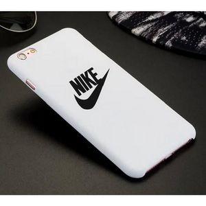 3b5d1019764e Nike Coque iPhone 6 Plus-6S Plue 5.5 Pouces - Blanc (HA072) - Achat ...