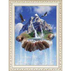 TABLEAU - TOILE ~3106◎ Peinture mosaïque Diamant Peinture créative