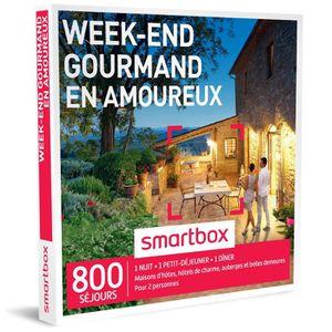 COFFRET SÉJOUR Coffret Cadeau - Week-end gourmand en amoureux - S