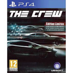 JEU PS4 Sony Ps4 : THE CREW Edition limitée (version franç