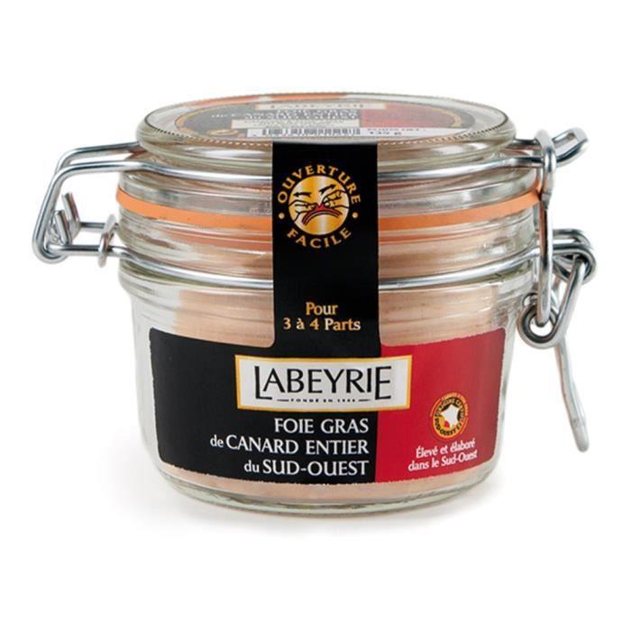 Labeyrie Foie Gras de Canard Entier du Sud-Ouest Bocal 135g