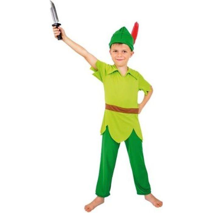 DÉGUISEMENT - PANOPLIE CESAR - F038 - Déguisement Peter Pan - 8 / 10 ans