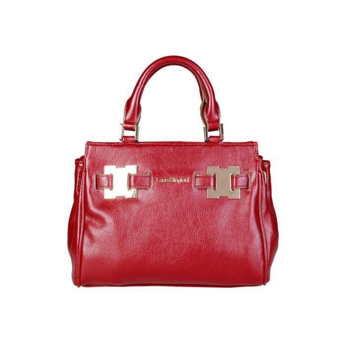 Cyllene Fantaisie - Sac à main pour femme (LB17W109-2_BORDEAUX) - Rouge
