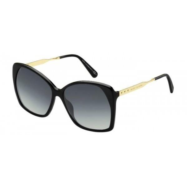 40652887fe447b MARC JACOBS 614 anwhd 59 15 Noir, doré - Achat   Vente lunettes de ...