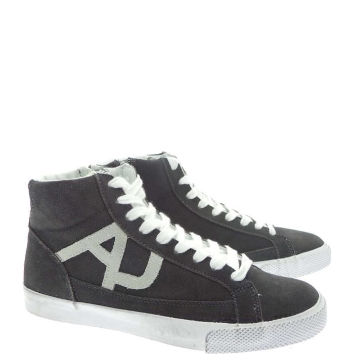 Armani Jeans Sneakers Homme Grey