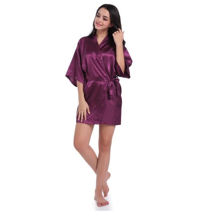 La Noce Pure Pour Soie En wsk2812 Robe Kimono Femmes Mariée De wPq8WR1z