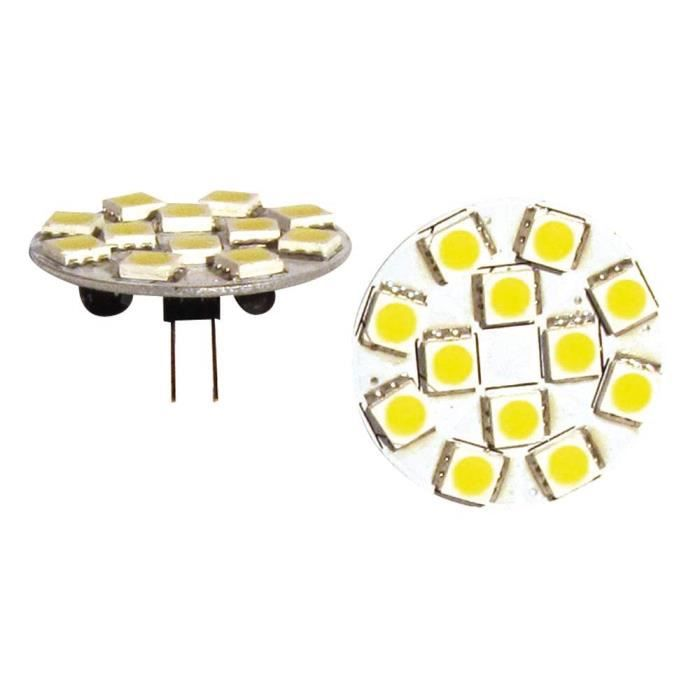 ELEKTRON Ampoule G4 LED SMD - Sortie arrière - 200 lumens