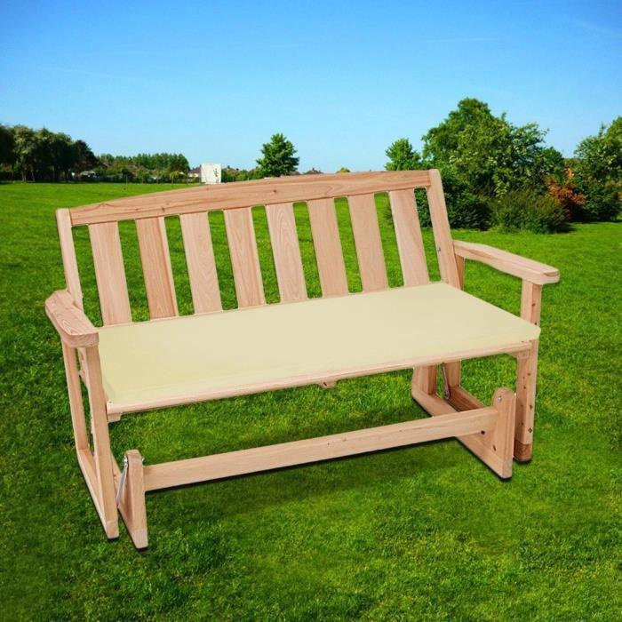 coussin pour banc de jardin achat vente pas cher. Black Bedroom Furniture Sets. Home Design Ideas