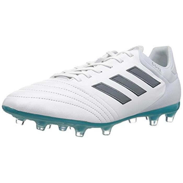 new style 6532c 97983 ADIDAS Chaussures de Football Copa 17.2 FG Homme - Blanc   bleu