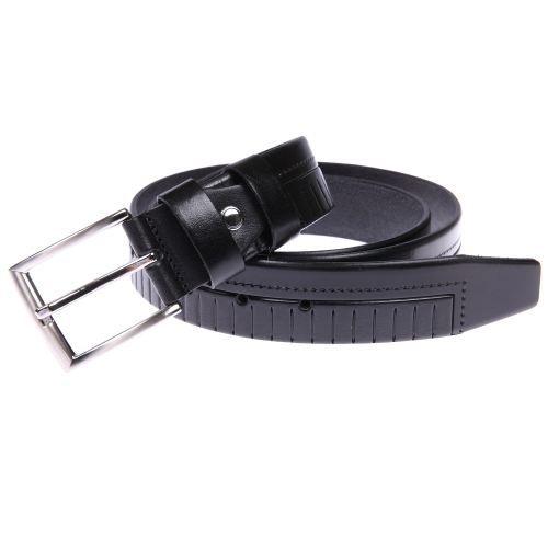 e24f4cfb12d4 Ceinture ajustable en cuir noir … Noir - Achat   Vente ceinture et ...