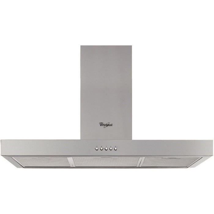HOTTE WHIRLPOOL - WHBS94FLMX - Hotte box - L 90 cm - Cla
