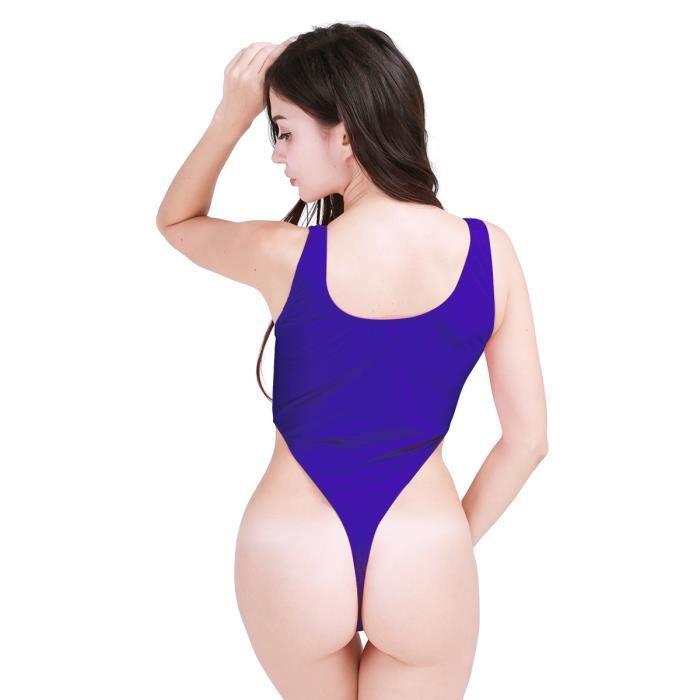 1 Maillot Nuit Bain Lingerie Gym De String Femme Sous Tankini Leotard Pieces Sport Justaucorps Body Nuisette vêtement wFqfSYw