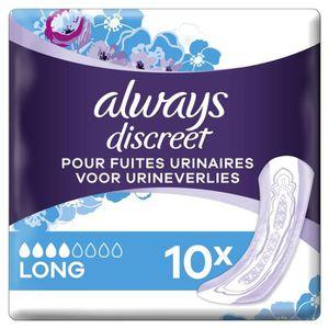 SERVIETTE HYGIÉNIQUE Serviettes hygiéniques pour fuites urinaires ALWAY