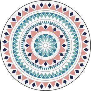 TAPIS Tapis rond 120cm tapis rond géométrique abstrait g
