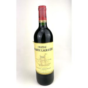 VIN ROUGE 1988 - Chateau Malartic-Lagraviere (rouge)